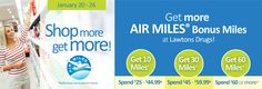 Shop more, get more AIR MILES Bonus Miles! Air Miles Rewards, Feel Better, Drugs, Wellness, Personal Care, Feelings, Tips, Shop, Self Care