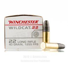 Winchester 22 LR Ammo - 5000 Rounds of 40 Grain LRN Ammunition #22LR #22LRAmmo #Winchester #WinchesterAmmo #Winchester22LR #LRN #WildCat