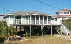 Maison de Coquille - Gulf Side Vacation Rental that sleeps 8 ~ Cape San Blas Vacation Rentals, Inc.