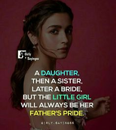 Father Daughter Love Quotes, Papa Quotes, Love My Parents Quotes, Mom And Dad Quotes, Crazy Girl Quotes, Father Quotes, Real Life Quotes, Girly Quotes, Classy Quotes