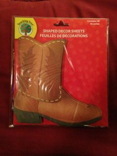 1 Pkg: Educational COWBOY BOOTS~ Decor Sheets (Thin Like A Notepad) Great Resource | eBay I have 2 left @ only $2.25...Come Visit My Store!