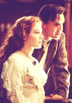 Kate Winslet and Billy Zane in Titanic.