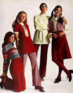 1971 fashion  - part 2 - school clothes