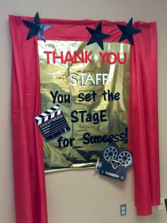 Award Winning Staff 2015  Bulletin Board in Teachers Lounge
