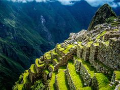 Machu Picchu, Peru's Sacred City: Machu Picchu sits high atop the Andes mountains, and was never found by Spanish conquistadores.
