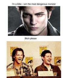Supernatural on Edward Cullen