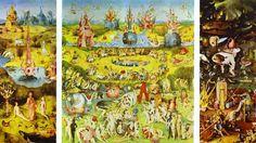 Tríptico del Jardín de las Delicias 1504 El Bosco