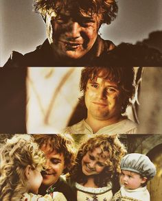 Sam, the greatest lover in Middle-earth, platonically for Frodo, romantically for Rosie, purely and passionately for both, without a shred of lust for either. We need more Sam's in the world!