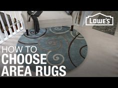 How to Choose Area Rugs - YouTube