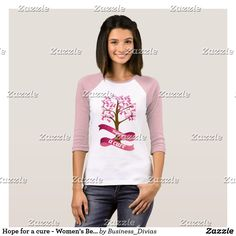 Hope for a cure - Women's Bella Canvas T-Shirt