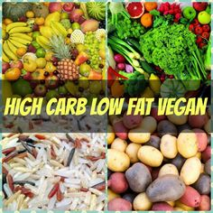 Tips for beginners-high carb low fat vegan