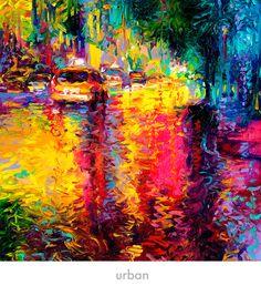 iris scott urban paintings