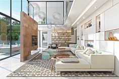 Roohome.com - Do you have a limited space in your house? Do not worry guys, here we have the best open plan interior designs which offer you with awesome and outstanding decor ideas inside. The designers have been arranged the whole room with fashionable and contemporary decoration. This is suitable ...