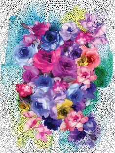 Bouquet  canvas - Urban Road