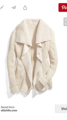 Would love this cozy sweater
