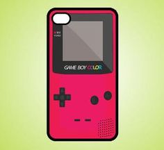 iPhone 4 Case retro red game boy iPhone Case Hard by iShopCases