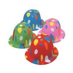 Polka Dot Derbies (1 Dozen) - Bulk US Toy http://www.amazon.com/dp/B0087QGNUK/ref=cm_sw_r_pi_dp_4kePvb0WBXBD3