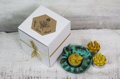 Beeswax candles. SET- CANDLE HOLDER+ 3 TEA LIGHTS.   Wavy leaf, frog and two lotus flowers  Candle looks impressively- very realistic sculpture of a frog and lotus flower,. All candles and holders performs personally. I do project, model, form, and a casting of beeswax. Beeswax comes from my apiary. Apiary is located in a beautiful mountain terrain.   This is a 100% pure Beeswax.  Candle are naturally scented by the honey and nectar of flowers and naturally emit negative ions, cleaning the…