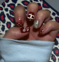COCO CHANEL Nail DESIGN By THANH