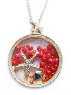 Coral Reef Charm Necklace - Miss Intuition