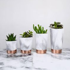 Copper tempered marbled black and white concrete pots - Art Cement London Pa . - artist - Copper tempered marbled black and white concrete pots Art cement London Pa - Rose Gold Rooms, Rose Gold Decor, Rose Gold Interior, Marble Interior, Bathroom Interior, Deco Rose, Concrete Pots, White Concrete, Black Cement