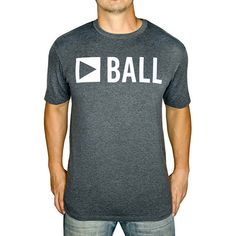 0ba9d62fb45 Baseballism Men s Play Ball T-Shirt PLAY BALL Bat Shirt
