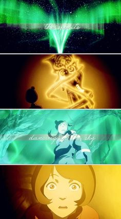 The Legend of Korra: jinora and Korra on a spiritual journey