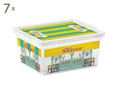 Set de 7 cajas de almacenamiento Boutiques - XXS