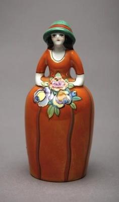 Deco Lady Noritake