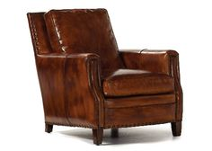 Hooker Furniture Twin Oaks Series 40 Inch Traditional-Style Living Room Plantation GS Recliner Chair with Nail Head Accents, Turned Legs and Leather Upholstery in Brown Hooker Furniture, Leather Furniture, Large Furniture, Quality Furniture, Living Room Chairs, Living Room Furniture, Dining Chairs, Lounge Chairs, Den Furniture
