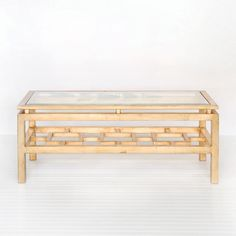 WA Pierre Gold Leafed Coffee Table