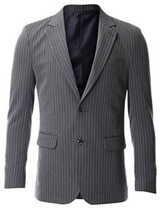 FLATSEVEN Men's Slim Fit Two Button Single Breasted Vertical Striped Blazer Jacket (BJ472) Grey, Boys 2XL FLATSEVEN http://www.amazon.com/dp/B00OXX6IU6/ref=cm_sw_r_pi_dp_.q6Xub0Q5KRCD