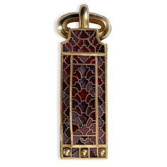 Buckle from a sword belt, from the Sutton Hoo ship burial Anglo-Saxon, early 7th…