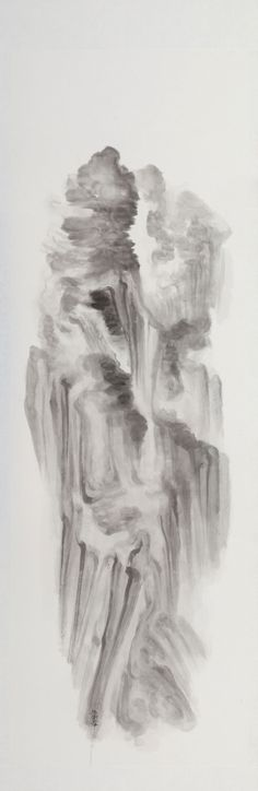 Zhen : Ink on chinese paper 2011, painted by Xu Longsen