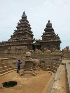 Shore temple in mahabalipuram