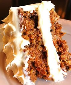 """Best CARROT CAKE"" recipe 
