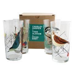 Oldham + Harper Birds Glasses