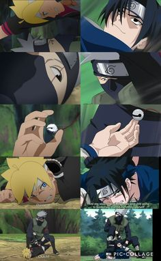 Boruto/Sasuke VS Kakashi  Identic fights  Epic Episode 36 ❤️❤️❤️