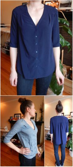 I bet you can make that - Two Camas blouses (another great Thread Theory...