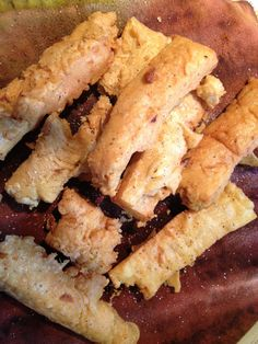 Chick pea fries. Easy, delicious and vegan and gluten free
