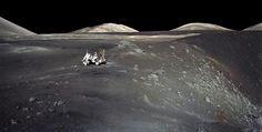 Apollo 17  Moon Valley