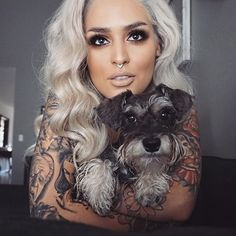 """Picture takin with one of my babies ! LUNA Unconditional love ❤️❤️❤️❤️ #meltcosmetics #meltnood"" Photo taken by @lora_arellano on Instagram, pinned via the InstaPin iOS App! http://www.instapinapp.com (10/03/2015)"