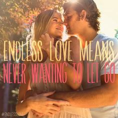 Endless love; can't wait to see this movie even if I hate love right now :/