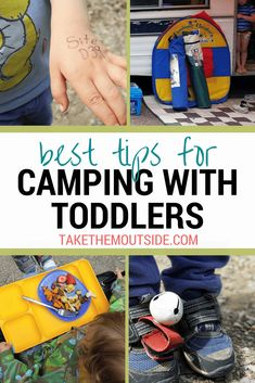5 Camping with Toddler tips you absolutely need to know! ⋆ Take Them Outside - 5 Camping with Toddler tips you absolutely need to know! ⋆ Take Them Outside Best tips for camping with toddlers Camping Desserts, Camping Snacks, Camping And Hiking, Camping Ideas, Camping Hacks With Kids, Camping Diy, Camping Supplies, Camping Essentials, Tent Camping