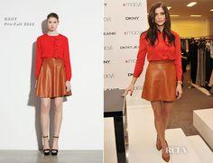 Ashley Greene In DKNY