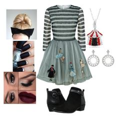 """""""~ Valentino Circus ~"""" by moniquedawson09123 ❤ liked on Polyvore featuring RED Valentino, Circus By Sam Edelman and Boodles"""