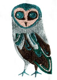 ART DECO OWL