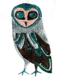 ART DECO OWL