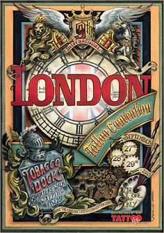 London tattoo INTERNATIONNALE convention 2013