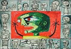 Ricardo Ponce Art Symbol Situations Modern Age Abstract Art Art Brut